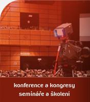 Konference a kongresy, semináře a školení
