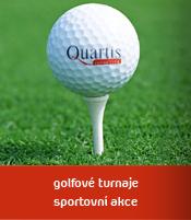 Golfové turnaje, sportovní akce